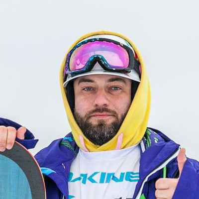 Макс Анатольевич, сноукайтинг - Gcamp