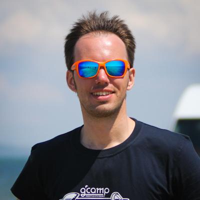 Петр Зеленков на Gcamp в мае 2016