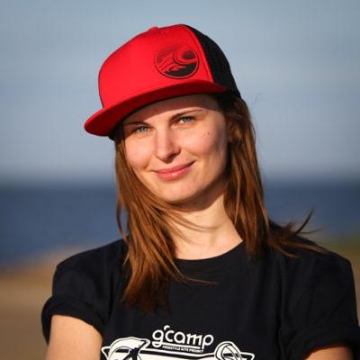 Анна Каменовская на Gcamp в мае 2016