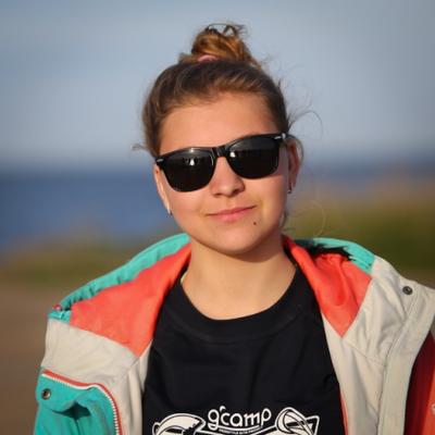 Валерия Гаращенко на Gcamp в мае 2016